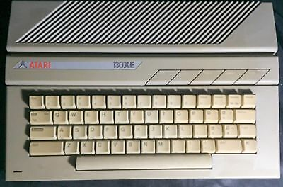 Clean Vintage Atari 130XE Computer - Tested Working - Includes  Power Supply