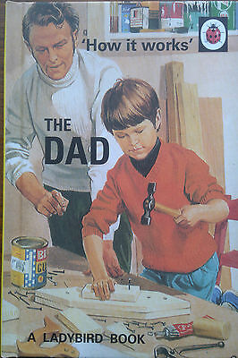 'How it works' The Dad A Ladybird Book Retro for Adults Very funny gift New