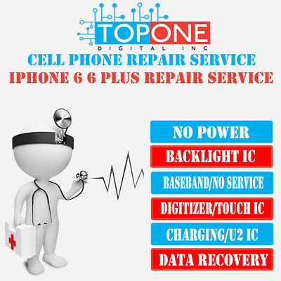 iPhone 6 6+ No Service(Baseband)Repair Service Turn Around Time 1-3Business Days