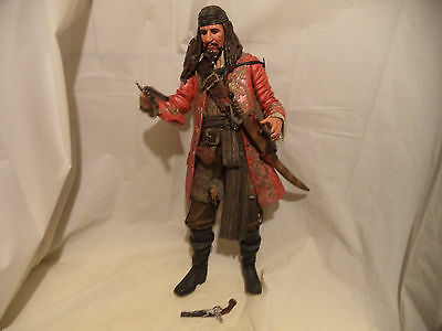 Disney Captain Jack Sparrow Talking Pirates of the Carribean Doll Figure 18 inch