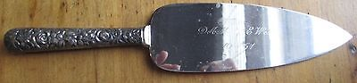 Sterling Silver Handle Made In Sheffield England Wedding Cake Pie Server Knife
