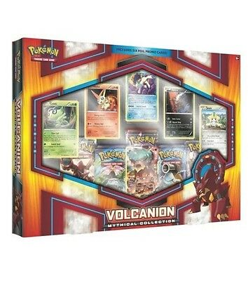 Pokemon Tcg: Mythical Collection Box Volcanion - 25% Off Rrp - Bnisb Ships 25/01