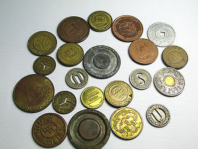 21 Misc. Tokens Free Shipping