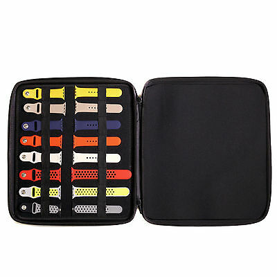 Watch Band Storage Portfolio-For Apple Watch Bands Storage Travel Case TSEVA1600