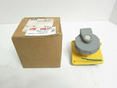 NewHubbell HBL320R4W Watertight Receptacle 20A 125VAC