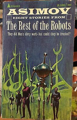 The Rest Of The Robots ISAAC ASIMOV 1st Pbk. Edition