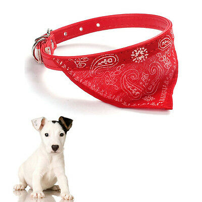New Adjustable Pet Dog Cat Puppies Collars Scarf Neckerchief Necklace Triangle