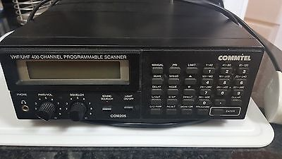 Commtel 400 channel scanner Com205