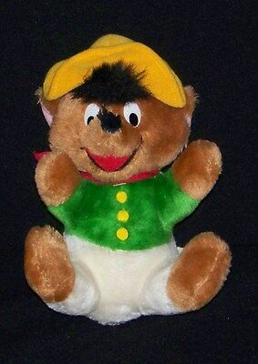 "VINTAGE 1971 Warner Bros. SPEEDY GONZALES 10"" Plush Doll"