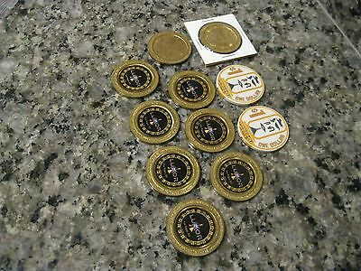 Luxor Casino Gaming Chips Tokens   DL-01