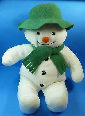 "Raymond Briggs The Snowman 15"" Eden Plush Stuffed Toy"
