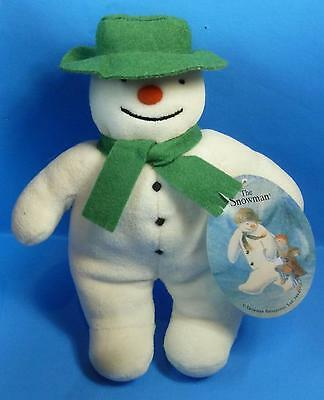 "Raymond Briggs The Snowman 9"" Eden Plush Stuffed Toy with Hang Tag"