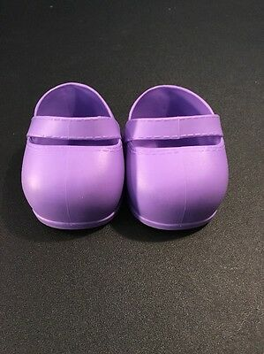 Cabbage Patch Kids Doll Cpk Lavender Strap Shoes 2004