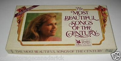 Reader's Digest The Most Beautiful Songs Of The Century Cassettes Brand New Rare