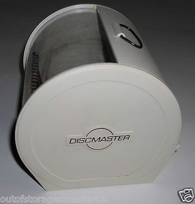 DiscMaster Disc Organizer Holds 40 Discs Roll Top Effect Protects Well