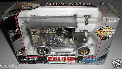 Golden Classic Model T Ford Die Cast Pepsi Cola Coin Bank Special Edition - NEW