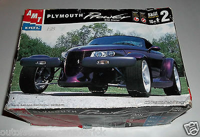 AMT ERTL Plymouth Prowler With Trailer Model Car Kit Complete Never Assembled