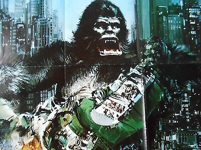 King Kong 1976 large German AO 33 x 47 movie poster monsters horror