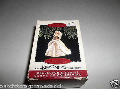 Hallmark Ornament Holiday Barbie 1994 2nd In Series QX5216 - New