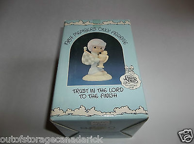 1984 Precious Moments Trust In The Lord To The Finish Members Only PM-842