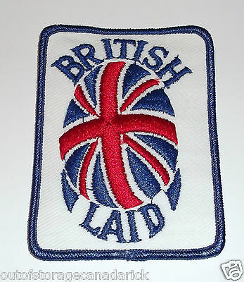 British Laid Patch Brand New Old Stock Rare