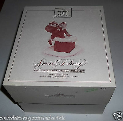 Hallmark Ornament Special Delivery 1987 The Night Before Christmas QSP9277