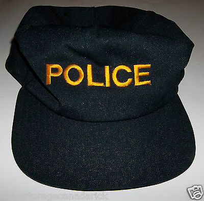 Police Snapback Hat Made In USA