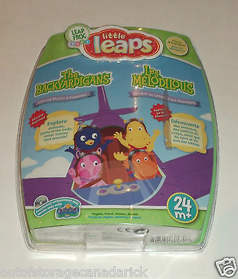 Leap Frog Baby Little Leaps The Backyardigans Learning Rhythm & Movement 24mo +