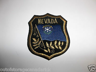 Nevada Crest Flag Patch - NOS New Rare