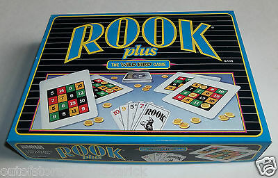 Rook Plus The Wild Bird Game Parker Brothers 1994 Never Played With New