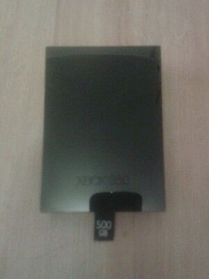 500gb HDD hard disk drive For Xbox 360 Slim..uk seller..free 1st class p+p