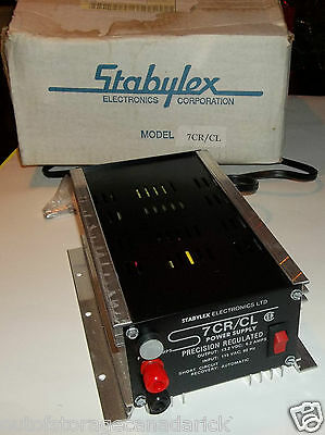 Stabylex 7CR / CL Power Supply Precision Regulated Excellent Condition