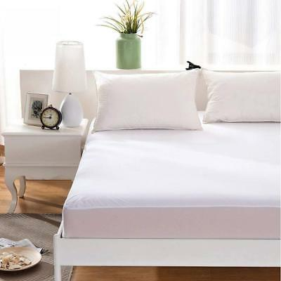 New Waterproof Mattress Protector Terry Towel Fitted Sheet Bed Cover Extra Deep