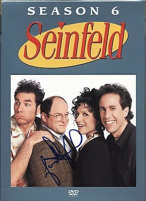 JASON ALEXANDER SEINFELD AUTOGRAPHED SIGNED DVD AUTHENTIC PHOTO PROOF Jerry