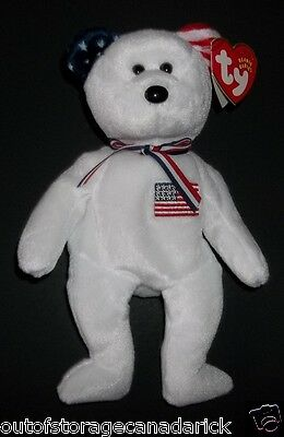 AMERICA Ty Beanie Baby Mint With Tags Exclusive