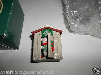 Hallmark Ornament Collector's Club Our Clubhouse 1988 - New