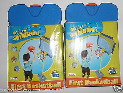 "Kids First Basketball Set X 2 - Ages 3+ "" Great Fun For Your Young One's"""