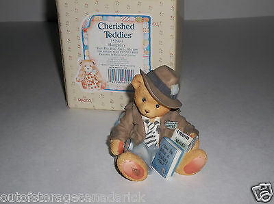 1998 Cherished Teddies Humphrey Just The Bear Facts, Ma'am 352977