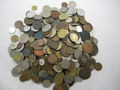 4   1/2 Lbs Of World Coins *new & Old Dates* Please Read