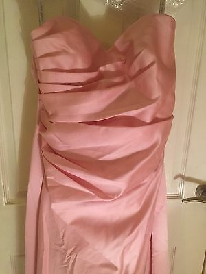 Alfred Angelo baby pink bridesmaid dress / Prom Dress (Size 14)