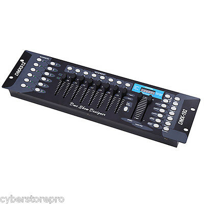 192 Channels DMX512 Controller Console for Stage Party DJ Light US PLUG