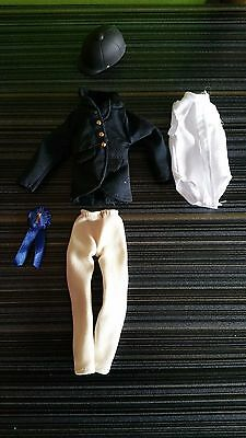 ONLY HEARTS CLUB LOT #X4 DOLL RIDER OUTFIT HELMET, Black riding pants, MORE