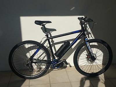 "Electric Bicycle 27.5"" Alum. Mid-Crank Drive eBike Stealthy"