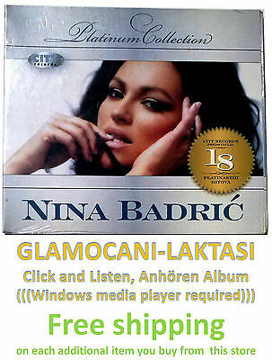 CD NINA BADRIC  THE PLATINUM COLLECTION 2009 Digipak serbia city records