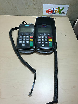 2 X Hypercom P1100 chip and pin reader card machine~FREE SHIP