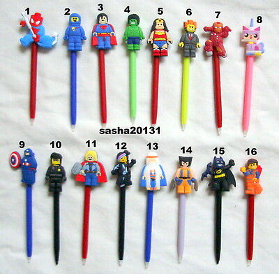 Nintendo Ds Lite/ Dsi /3Ds 3 Lego Movies Character Stylus Pens,brand New