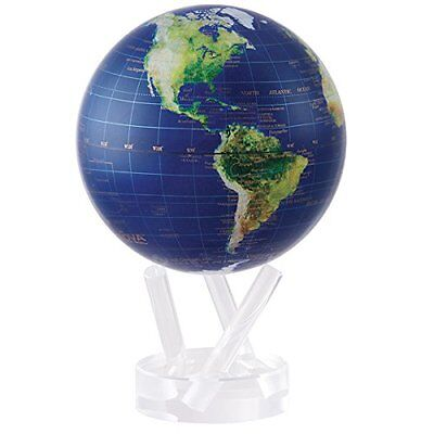 """4.5"""" Satellite View with Gold Lettering MOVA Globe"""