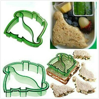 Dinosaur Cutters Sandwich Cake Bread Toast Cookies Biscuit Cutter Mold Mould
