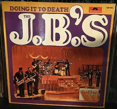 The J.B.'s-Doing It To Death Lp 1973 italian Issue James Brown Funk
