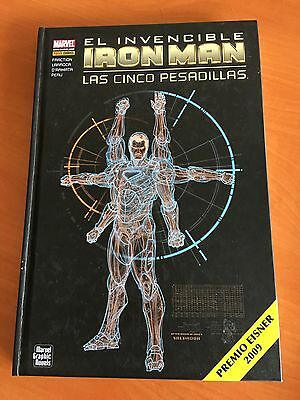 El Invencible IRON MAN cómic Marvel